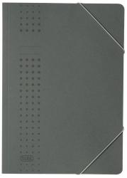 Eckspanner chic, Karton (RC), 320 g/qm, A4, anthrazit