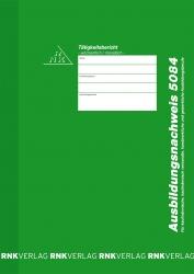 Ausbildungsnachweis-Block wöchentlich/monatlich, alle Berufe, 28 Blatt, DIN A4