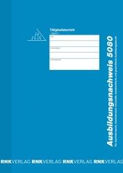 Ausbildungsnachweis-Heft täglich, alle Berufe, 56 Seiten, DIN A4