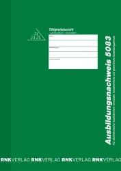 Ausbildungsnachweis-Heft wöchentlich/monatlich, alle Berufe, 56 Seiten, DIN A4