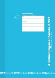 Ausbildungsnachweis-Heft Handwerk mit Skizzenteil wöchentlich, 60 Seiten, DIN A4