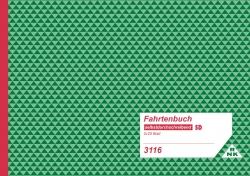 Fahrtenbuch für Lkw - SD, 2 x 25 Blatt, DIN A5 quer