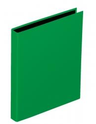 Ringbuch Basic Colours - A5, 2-Bügel-Mechanik, Ring-Ø 20mm, grün