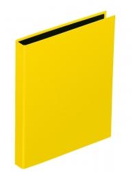 Ringbuch Basic Colours - A4, 2-Ring, Ring-Ø 20mm, gelb