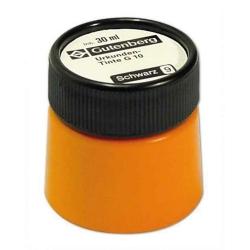 Urkundentinte - 30 ml, schwarz