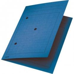 3998 Umlaufmappe, A4, Gitterdruck, Manilakarton 320 g/qm, blau