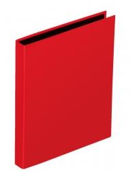 Ringbuch Basic Colours - A4, 4-Ring, Ring-Ø 25mm, rot