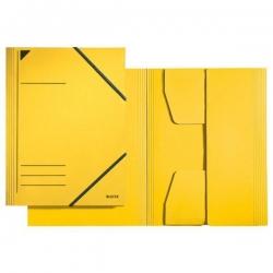 3981 Eckspannermappe - A4, 250 Blatt, Pendarec-Karton (RC), gelb