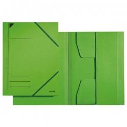 3981 Eckspannermappe - A4, 250 Blatt, Pendarec-Karton (RC), grün