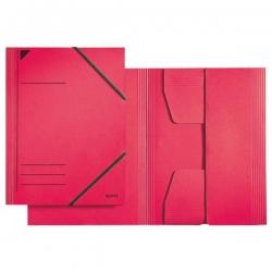 3981 Eckspannermappe - A4, 250 Blatt, Pendarec-Karton (RC), rot