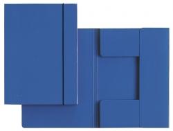 3926 Sammelmappe, A4, Hartpappe, blau