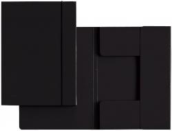 3926 Sammelmappe, A4, Hartpappe, schwarz
