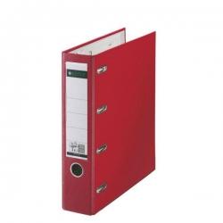 1012 Plastik-Doppelordner - 2x A5 quer, 75 mm, rot
