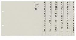 1336 Registerserie - A-Z, Papier, A4 Überbreite, für 36 Ordner, grau
