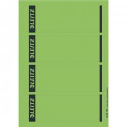 1685 PC-beschriftbare Rückenschilder - Papier, kurz/breit,100 Stück, grün