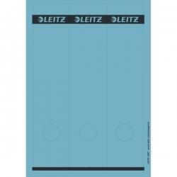 1687 PC-beschriftbare Rückenschilder - Papier, lang/breit, 75 Stück, blau