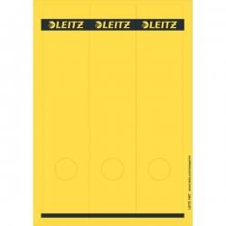 1687 PC-beschriftbare Rückenschilder - Papier, lang/breit, 75 Stück, gelb