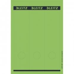 1687 PC-beschriftbare Rückenschilder - Papier, lang/breit, 75 Stück, grün