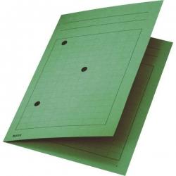 3998 Umlaufmappe, A4, Gitterdruck, Manilakarton 320 g/qm, grün