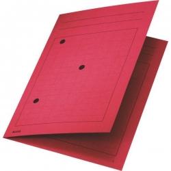3998 Umlaufmappe, A4, Gitterdruck, Manilakarton 320 g/qm, rot