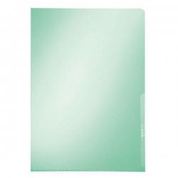 4100 Sichthülle Premium, A4, PVC, dokumentenecht, grün