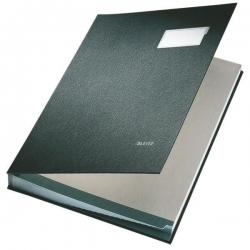 5700 Unterschriftsmappe - 20 Fächer, PP kaschiert, schwarz
