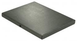 Dokumentenmappe - A4, 20 mm, Hartpappe (RC), schwarz