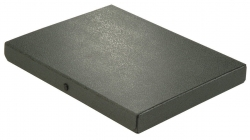 Dokumentenmappe - A4, 30 mm, Hartpappe (RC), schwarz