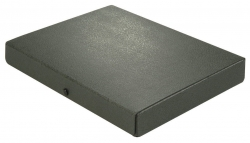Dokumentenmappe - A4, 40 mm, Hartpappe (RC), schwarz