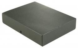 Dokumentenmappe - A4, 60 mm, Hartpappe (RC), schwarz