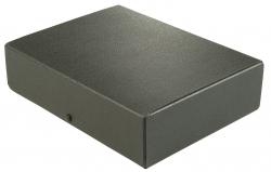 Dokumentenmappe - A4, 80 mm, Hartpappe (RC), schwarz