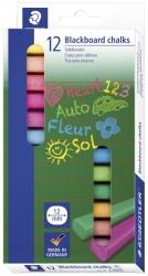 Wandtafelkreide 2360, farbig sortiert, Etui mit 12 Stück