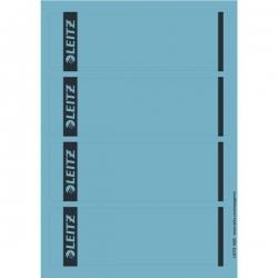 1685 PC-beschriftbare Rückenschilder - Papier, kurz/breit,100 Stück, blau