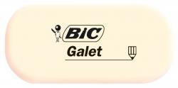 Radierer GALET, synthetischer Kautschuk, 28 x 13 x 58 mm