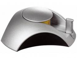 Klebefilm-Abroller DELTA Silber Edition, Klebeband 33 m x 15 mm, silber