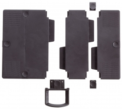 Erweiterungsplatten-Set für Telefonschenkarm - anthrazit