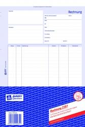 2397 Rechnung, DIN A4, selbstdurchschreibend, 40 Blatt, weiß