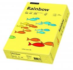 Rainbow Intensiv - A4, 120 g/qm, gelb, 250 Blatt