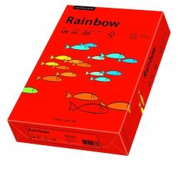 Rainbow Intensiv - A4, 120 g/qm, intensivrot, 250 Blatt