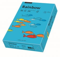 Rainbow Intensiv - A4, 160 g/qm, blau, 250 Blatt