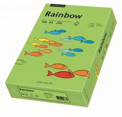 Rainbow Intensiv - A4, 160 g/qm, grün, 250 Blatt
