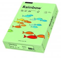 Rainbow Pastell - A4, 120 g/qm, mittelgrün, 250 Blatt