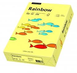 Rainbow Pastell - A4, 160 g/qm, hellgelb, 250 Blatt