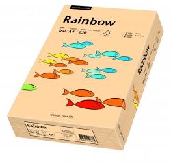 Rainbow Pastell - A4, 160 g/qm, lachs, 250 Blatt