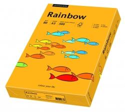 Rainbow Pastell - A3, 80 g/qm, mittelorange, 500 Blatt
