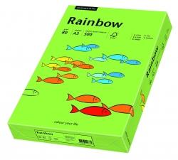 Rainbow Intensiv - A3, 80 g/qm, grün, 500 Blatt