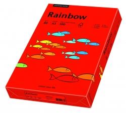Rainbow Intensiv - A3, 80 g/qm, intensivrot, 500 Blatt