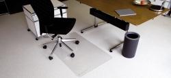 Ecoblue® Bodenschutzmatten für normalflorige Teppichböden - Form 0, 75 x 120 cm