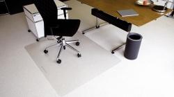 Ecoblue® Bodenschutzmatten für normalflorige Teppichböden - Form 0, 90 x 120 cm