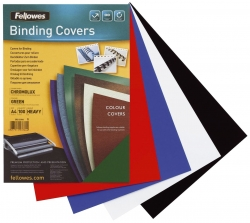 Deckblätter Chromolux - A4 Deckblätter, grün, 100 Stück